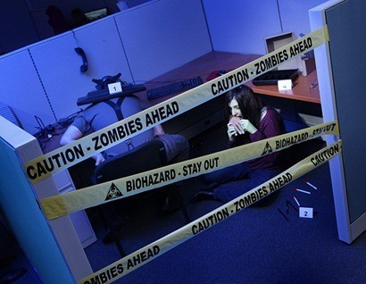 Cinta Policial Zombies
