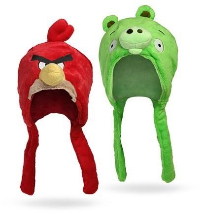 Gorro Peluche Angry Birds