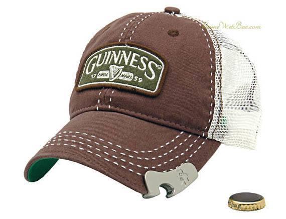 Guinness-gorra desapa botellas