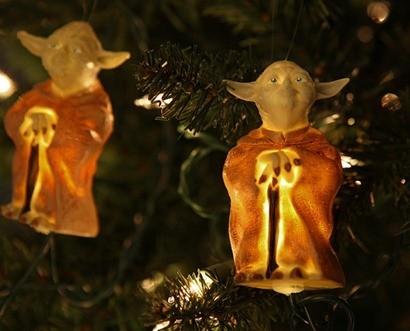 Luces Navidad Yoda