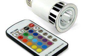 Bombilla LED multicolor