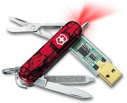 Navaja Memoria USB
