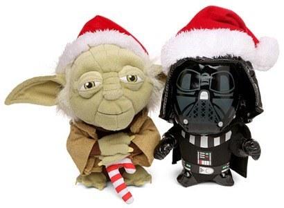 Peluches Yoda Vader