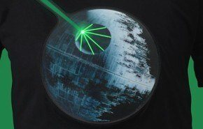 Remera Electronica Star Wars Death Star