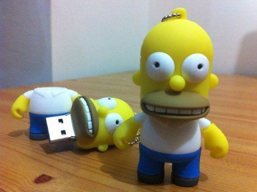 USB homero simpson