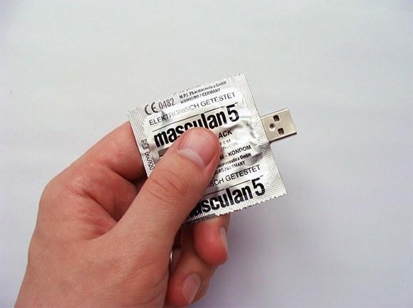 USB preservativo condon
