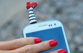 Adornos de navidad para teléfonos móviles
