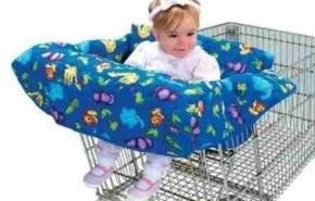 Clean Shopper Shopping Cart Cover, para que tu bebe no se llenen de gérmenes en el supermercado