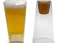 Vasos de cerveza graciosos