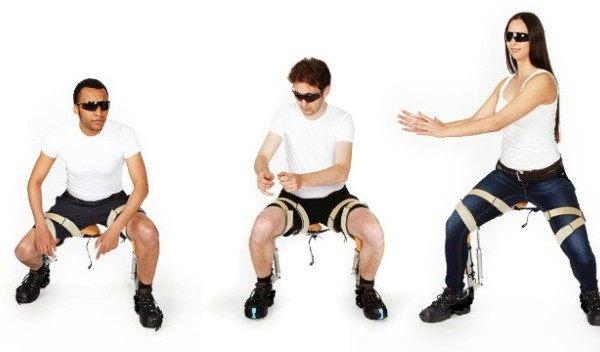 La extraña silla sin silla