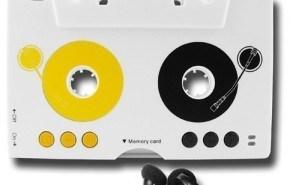 Reproductor MP3 embebido en un cassette