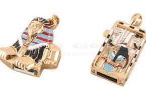 Nuevo diseño egipcio para USB