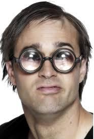 falsas gafas superaumento