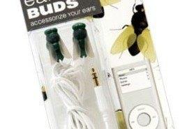 Fly Ear Buds, auriculares con forma de mosca