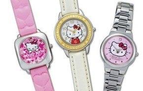 Hello Kitty: Reloj Citizen y reproductor de DVD