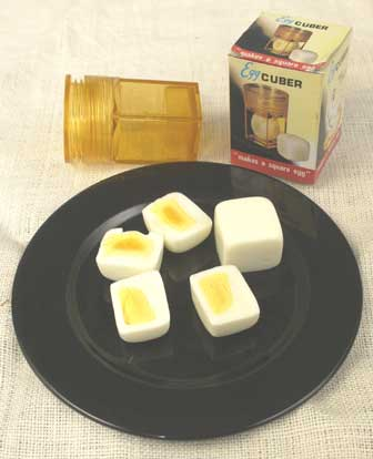 huevo duro cúbico