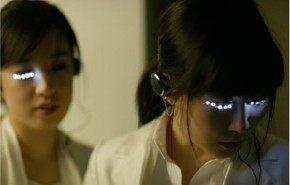 Decora tus ojos con pestañas LED