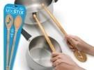 Mix Stix, tocando la batería con cucharas de madera