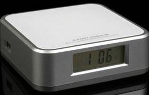 Despertador con luz y hub USB