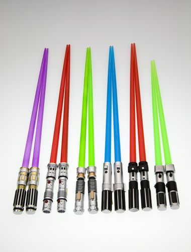 palitos chinos sable laser