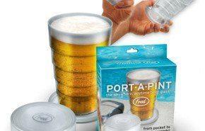 Vaso de cerveza portable