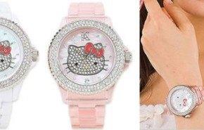 Relojes Hello Kitty, diseñados en Italia
