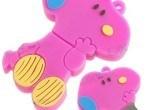 Snoopy USB de color rosado