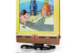 Televisor LCD de Bob Esponja