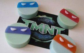 Jabones tortugas ninja