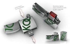 Nuevo encendedor USB recargable